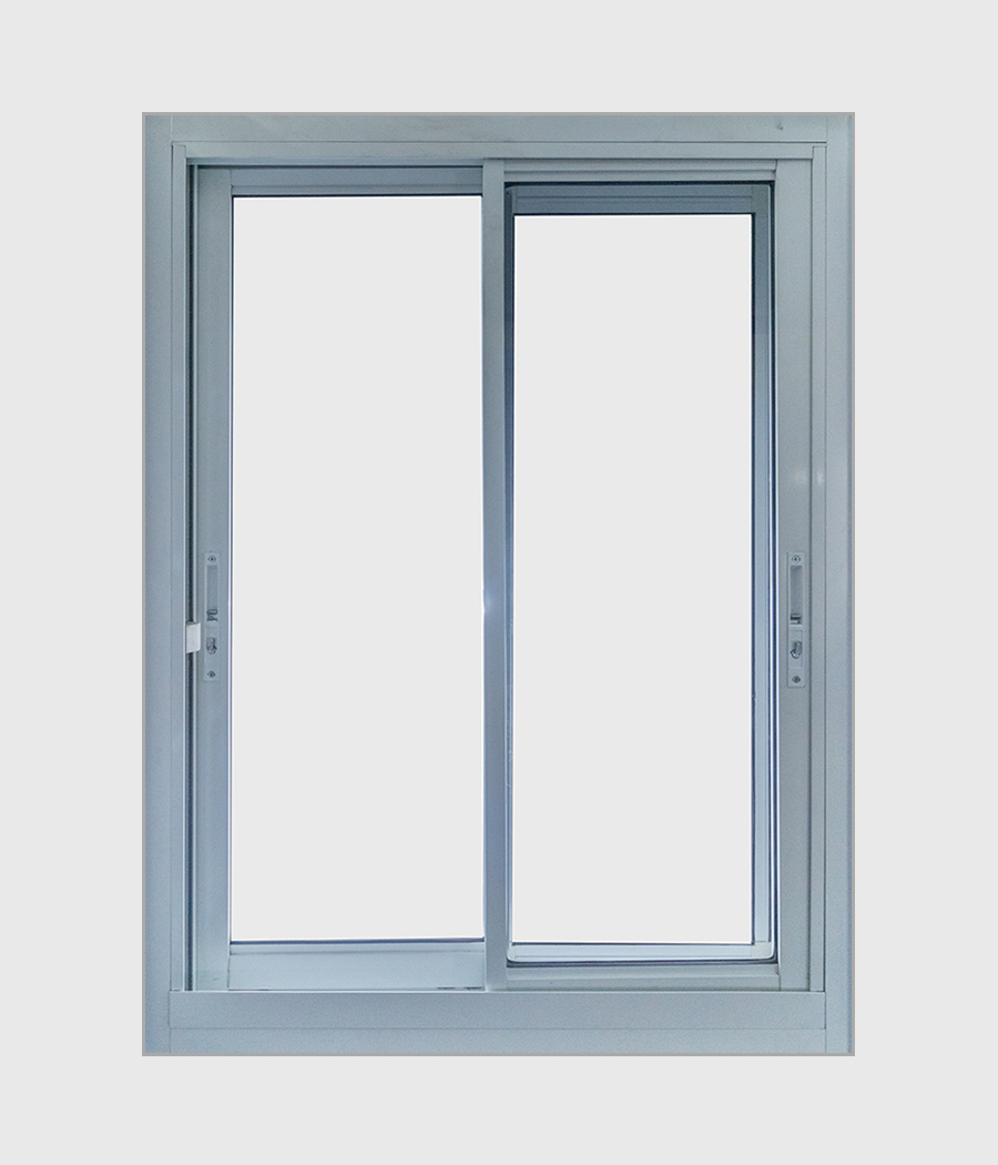 Aluminium Heavy Duty Double Sliding Window